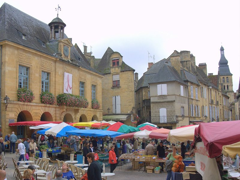 Dordogne And Lot Markets In France